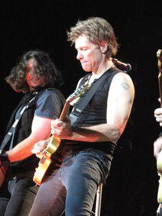 Jon Bon Jovi and Phil X live 2013.