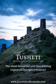 The Tusheti region of Georgia is one of the most beautiful, remote and fascinating regions of this country. Read more about the dangerous road, the culture, how to get there, what to do and where to stay in Tusheti