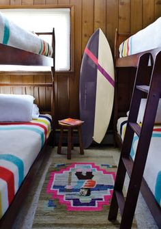 bunk up! @hanahw this is how we should decorate our place in Hawaii :)