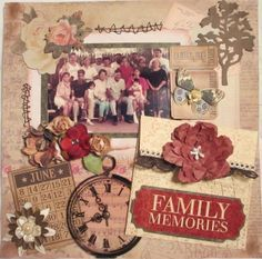 Family Memories - Scrapbook.com