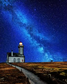 Milky Way - Belle ile en mer, France