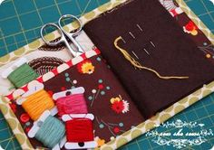Quilted Needle Case Tutorial | Sew She Sews's