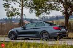 BMW M4 Convertible With Vossen Wheels