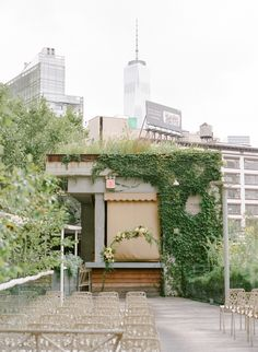 Wedding ceremony outdoor New York City