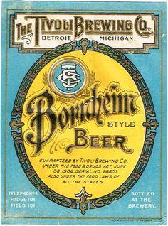 one vintage atlas brewing 1933 1962 12 ounce container lager beer label vintage pinterest. Black Bedroom Furniture Sets. Home Design Ideas