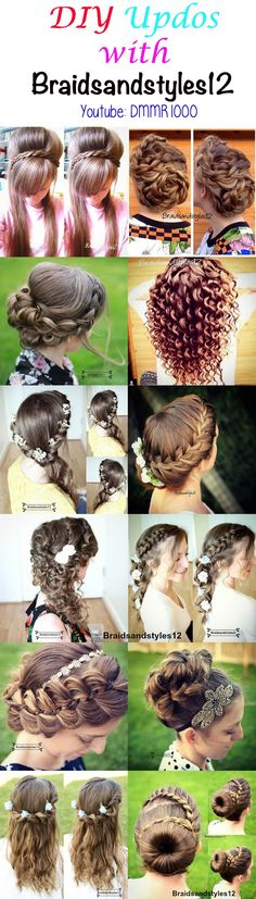 Updos and Upstyles perfect for Prom , weddings, parties, holidays etc. by Braidsandstyles12 . Youtube Channel :https://www.youtube.com/channel/UC8ouEGIBm1GNFabA_eoFbOQ