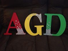 Alpha Gamma Delta letters.... @paisleyowl