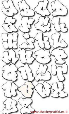 letras para graffitis - Pesquisa Google