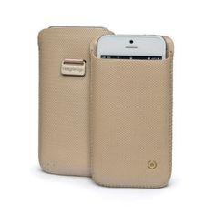 Husa Celly Corretto Sampanie iPhone 5 - Huse