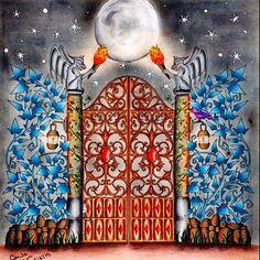Instagram media gabrielalimacaires - Meu portal do floresta encantada ! #forumdacriatividade #florestaencantada #jardimsecretofans #nossafloresta #nossojardim #adultcoloringbook #desenhoscolorir #jardimcolorido #johannabasford #jardimsecretotop
