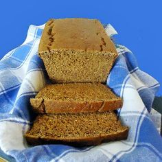 Fast and Easy Whole Wheat and Molasses Quick Bread. It is indeed fast and easy, and also tasty (especially toasted). I added some cocoa to this because chocolate, right? :-D It's an easily customizable recipe in terms of adding herbs or other spices.