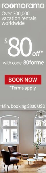 Apartment, Home & Villa around the world. $80 off your booking with code 80forme exp.9/30