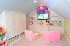 Restoration Hardware Style Home - Transitional - Kids - Cleveland - Mullet Cabinet