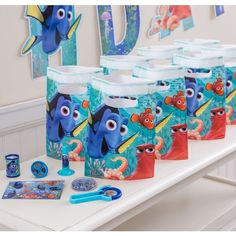 #The dory themed props for the birthday celebrations #bookeventz
