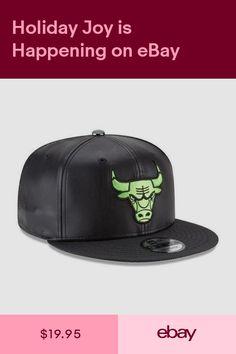 New Era Chicago Bulls Snapback Hat Cap Black Green Tude Hook 9Fifty Jordan  NEW 9e31c4fbc3f