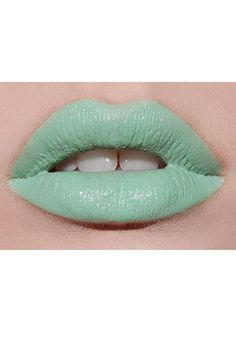 Mint To Be lipstick by Lime Crime.