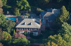 This six-bedroom, eight-bathroom Bellona Avenue home in Woodbrook sold in September for $3.8 million. The 2.5-acre property was built in 1934, has a pool and sits just across the county line. (Baltimore County)