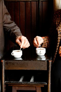A cup of coffee shared with a friend is happiness tasted and time well spent. --Arabic Proverb. 274