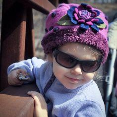 Fun Gigi hat brings a smile to this little fashionista  Www.kookooshka.com