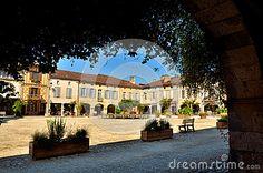 French destination, Labastide Darmagnac, picturesque little town