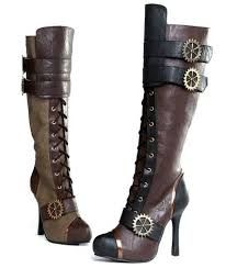 steampunk fashion - Google Search    Amazing boots, probably not in a size 5.