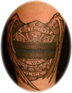 1000 images about law enforcement tattoos on pinterest for Law enforcement memorial tattoo