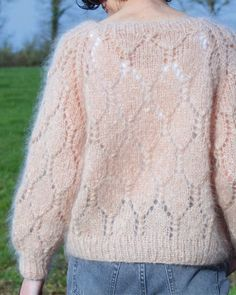 Marie Claire, Pulls, Knitwear, Knitting Patterns, Sweaters For Women, Pullover, Lace, Tops, Jumpers