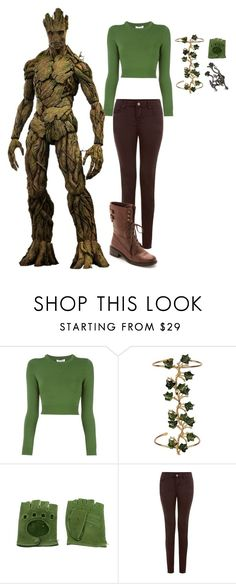 """""""Inspired Marvel Groot"""" by elanorjoy ❤ liked on Polyvore featuring Opening Ceremony, Madina Visconti di Modrone, Joanna Laura Constantine and Sam Edelman"""