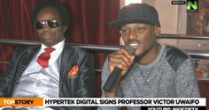 Hypertek Digital boss, 2face Idibia signs music legend and a professor of music, Sir Victor Uwaifo to his company.No one would have imagined this but nothing is impossible in a versatile industry like the music industry.Watch The Video Below.