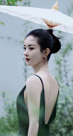 Zhao Li Ying, Chinese Actress, Backless, Actresses, Lonely, Beauty, Fashion, Female Actresses, Moda