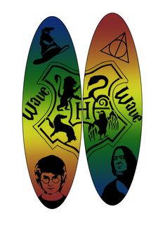 11th personal wave surfboard designs, using gradient and vectors