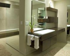 Master Bath Remodel and Addition - modern - bathroom - phoenix - by Baker + Hesseldenz Design, Inc.