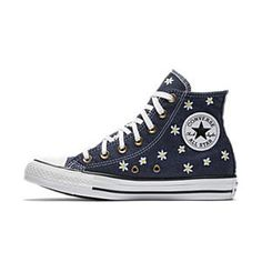 meet 27a96 cfbcb Converse Chuck Taylor All Star Denim Floral High Top Women s Shoe Converse  Chuck Taylor All Star