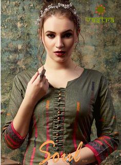 Chudidhar Neck Designs, Neck Designs For Suits, Sleeves Designs For Dresses, Neckline Designs, Dress Neck Designs, Salwar Suit Neck Designs, Kurta Neck Design, Kurta Designs Women, Long Dress Design