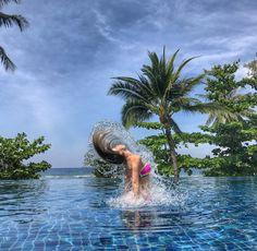 Thailand, island Phuket #бассейн #море #девушка #отдых #vacation