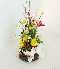 Easter Season, Egg Art, Easter Wreaths, Spring Crafts, Easter Crafts, Floral Arrangements, Holiday, Christmas, Centerpieces