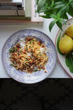 Winter Food, Japchae, Fall Recipes, Spaghetti, Pasta, Yummy Food, Dinner, Ethnic Recipes, Table