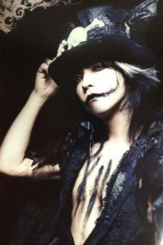 Hyde from L'arc en Ciel, he's gorgeous
