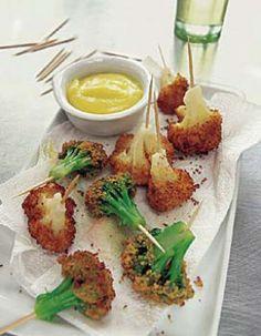 Chou-fleur et brocolis frits - ELLE