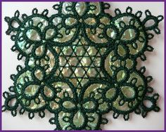 Image result for tatted christmas ball pattern