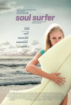 With AnnaSophia Robb, Dennis Quaid, Helen Hunt, Carrie Underwood. Teenage surfer Bethany Hamilton overcomes the odds and her own fears of returning to the water after losing her left arm in a shark attack. Bethany Hamilton, Helen Hunt, Surf Movies, Cool Gifts For Teens, Soul Surfer, Film Score, Annasophia Robb, Classic Films, Vintage Movies