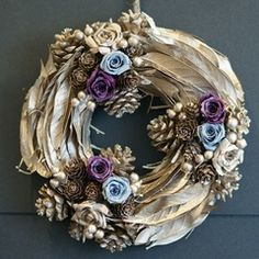 feather wreaths | Feather Wreath | Wreaths