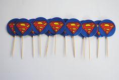 Ideas for Superhero Party _ Cupcake pics