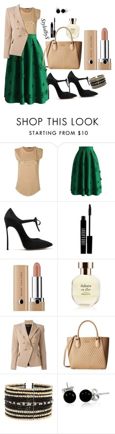 """""""StyledbyS"""" by sforstylebys on Polyvore featuring Balmain, Chicwish, Lord & Berry, Marc Jacobs, Arquiste Parfumeur, Calvin Klein, Eloquii, Bling Jewelry, StreetStyle and WorkWear"""