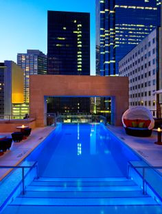 The Pool At Joule Beautiful Pools Dallas Spa