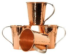 Sertodo Moscow Mule Mug set of 4, Hammered Copper, 18 Fluid Ounces Review