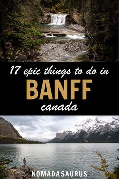 Do NOT miss these absolutely epic things to do in Banff, Canada! … Do NOT miss these absolutely epic things to do in Banff, Canada! Pvt Canada, Visit Canada, Backpacking Canada, Canada Travel, Canada Trip, Tourism In Canada, Backpacking Tips, Places To Travel, Places To Go