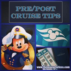 Pre/Post Cruise Tips for Disney Cruise Line. Ideas on accomodations and car rentals before and after your Disney Cruise vacation. Informations About D Disney Wonder Cruise, Disney Magic Cruise, Disney Fantasy Cruise, Disney Cruise Ships, Disney Tips, Disney Fun, Disney 2017, Disney Planning, Disney Style