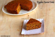 Chorizo cake fast and delicious - Clean Eating Snacks Eggless Carrot Cake, Eggless Desserts, Eggless Recipes, Vegan Carrot Cakes, Eggless Baking, Vegan Cake, Vegan Desserts, Baking Recipes, Cake Recipes