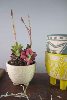 cute tripod planters.